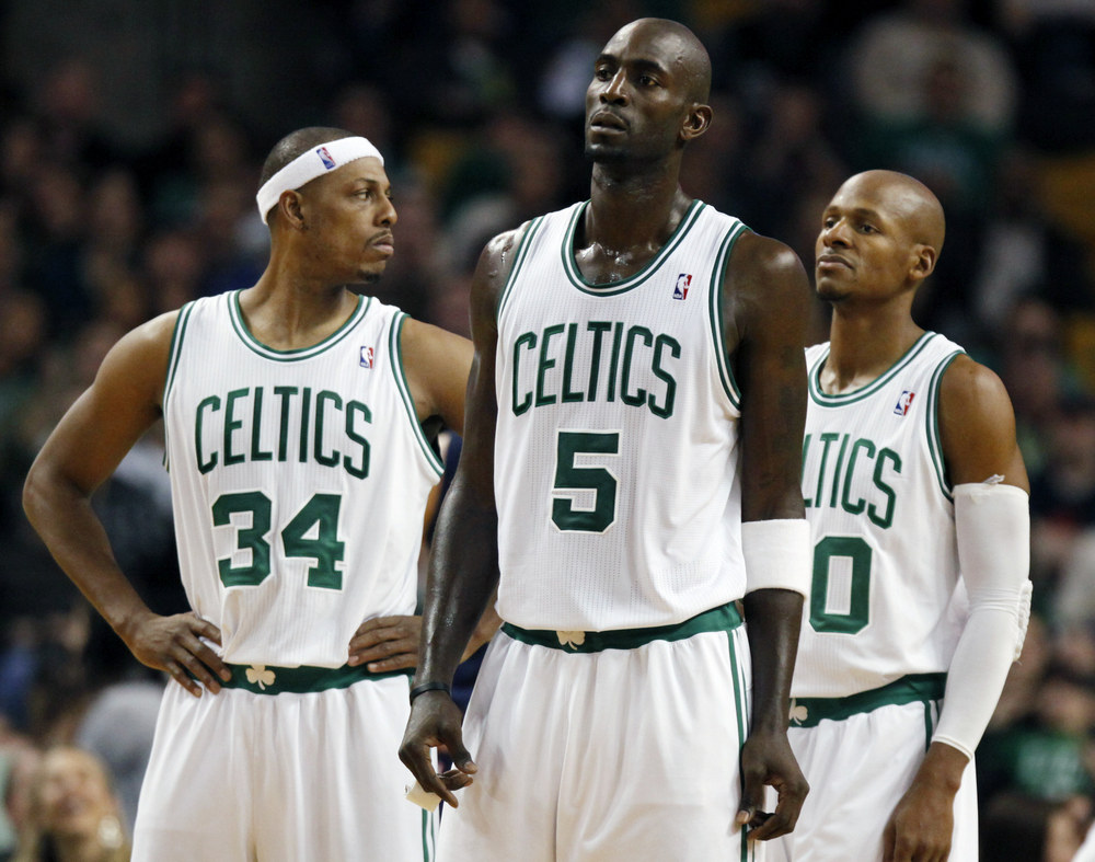 Paul Pierce, Kevin Garnett, Ray Allen
