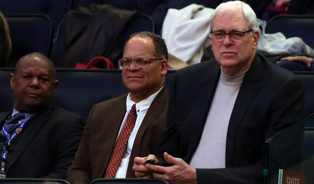 Phil Jackson at Knicks