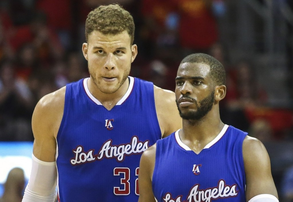 Clippers down