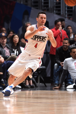 J.J. Redick於關鍵時刻,為Clippers連續攻入6分。(圖片:Clippers)